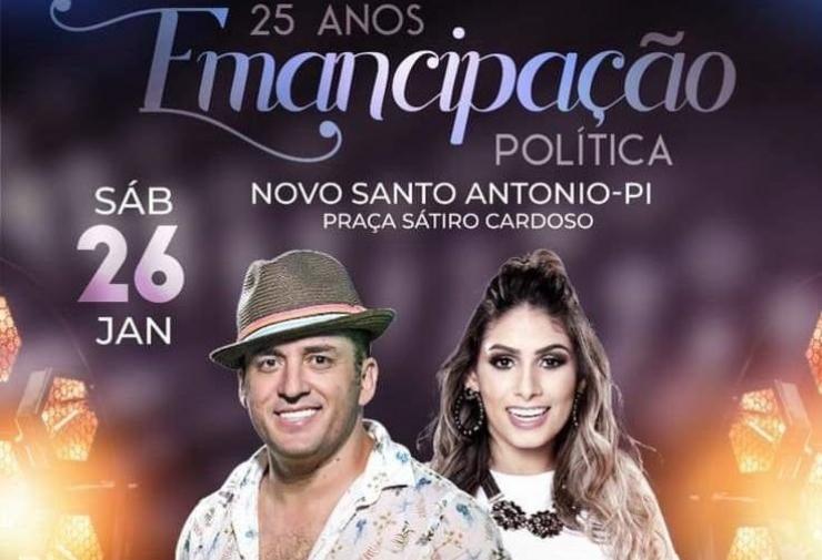 Forró Sacode é confirmado no aniversário do município de Novo Santo Antonio