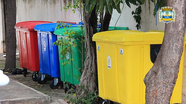 Inaugurado primeiro ponto de entrega voluntária de materiais recicláveis