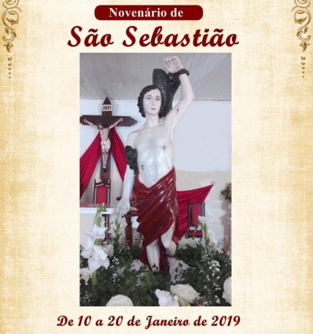 A partir desta quinta-feira acontece o novenário no Bairro São Sebastião