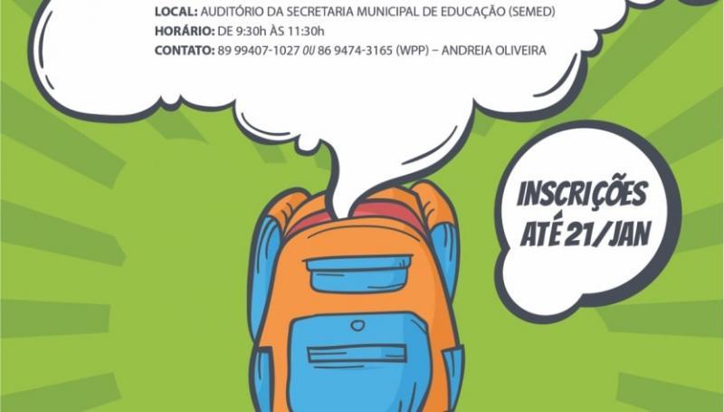 Prática educacional de Oeiras é tema de simpósio para gestores municipais