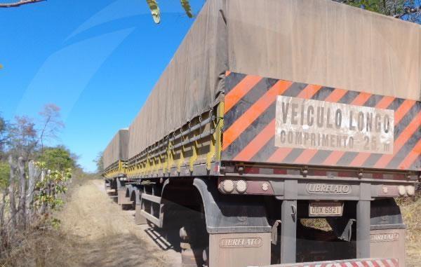 Bando rende motorista e rouba 72 pneus de carretas no interior do Piauí