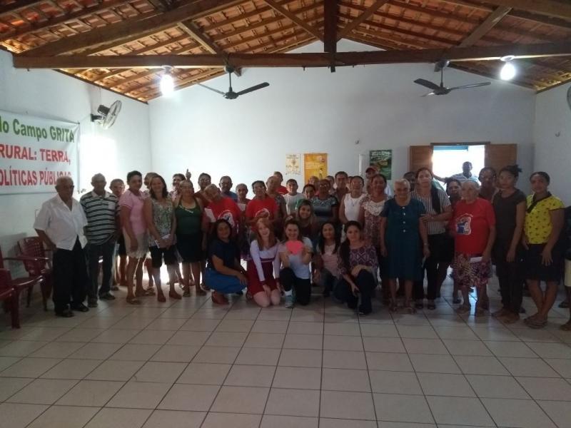 Prefeitura, Cras e Nasf comemoram o dia do Idoso em Olho D'água