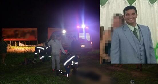 Colisão deixa uma pessoa morta e outra gravemente ferida na BR-402