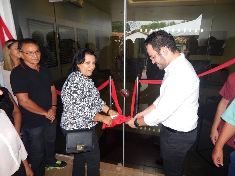 Inauguração da Clínica Dr. Leandro Dias na cidade de Cristino Castro-PI