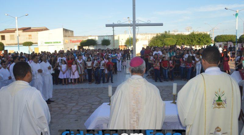 Missa marca encerramento do estágio pastoral em Caridade do Piauí