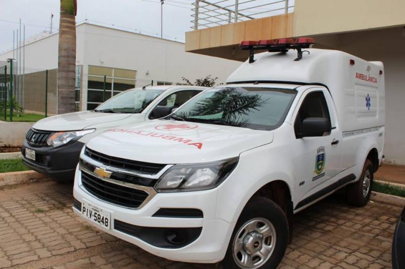 Secretaria de Saúde de Corrente ganha nova Ambulância