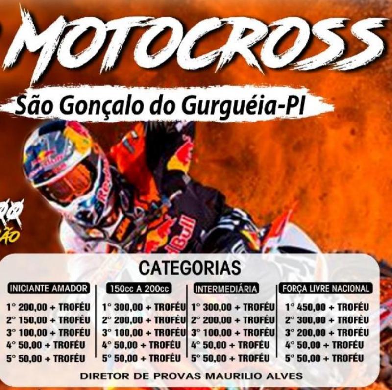 Começam os preparativos para o 5º motocross de São Gonçalo do Gurguéia