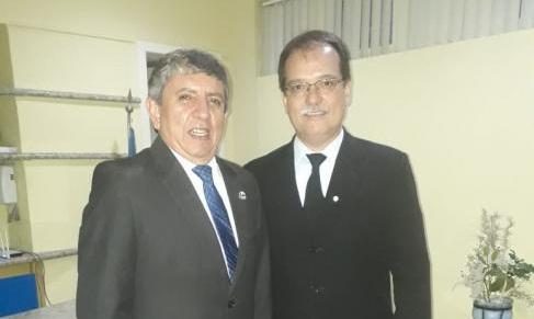 Nogueira Neto e Dalton Sampaio são empossados como presidente e vice