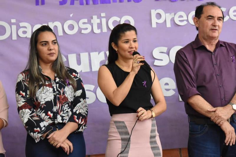 """Campanha """"Janeiro Roxo"""" tem início em Floriano"""