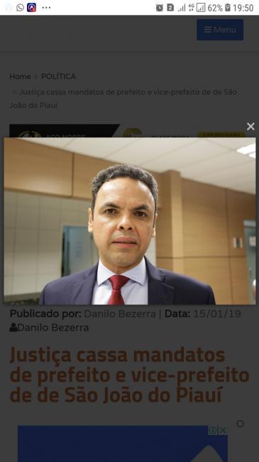 juiz eleitoral da 20ª zona eleitoral, Maurício Machado Queiroz Ribeiro,