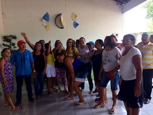 Prefeita Neidinha Lima participa de atividades no CCI de Guadalupe