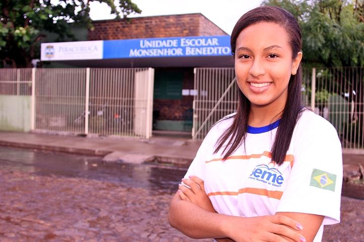 Estudante de Piracuruca é destaque em Olimpíada Piauiense de Matemática