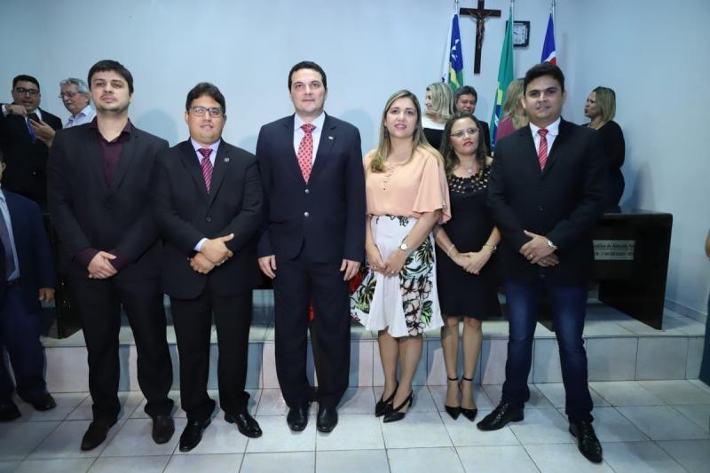 Nova diretoria da OAB de Barras toma posse em sessão solene