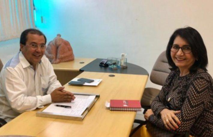 Prefeita Ceiça Dias se reuniu com o presidente da APPM