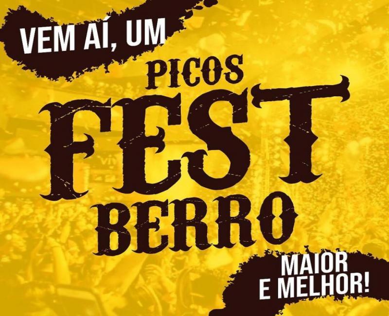 Divulgada primeira atração do Picos Fest Berro 2019