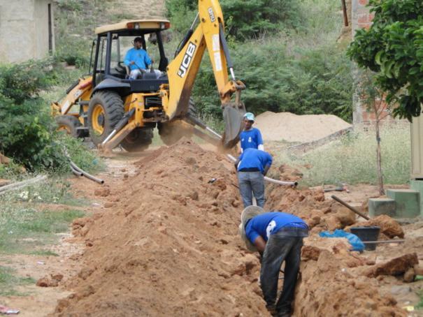 SAAE expande abastecimento de água no Bairro Várzea em Oeiras