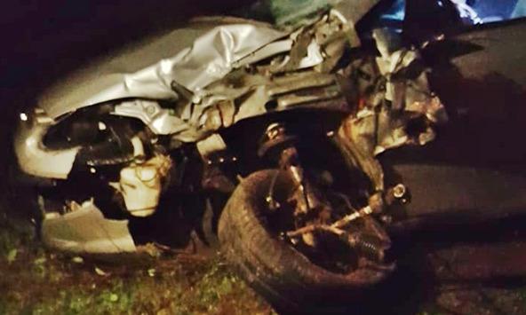 Colisão entre carro e moto deixa um morto e um ferido na BR-222