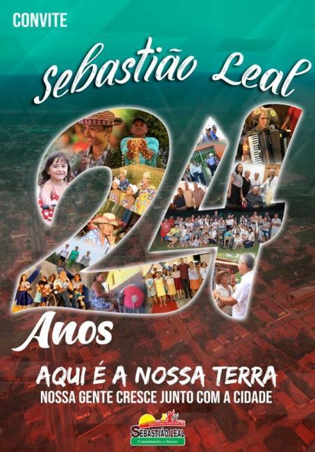Confira a programação do aniversário de Sebastião Leal