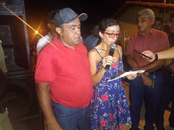 Moradores fazem carta para agradecer calçamento no bairro Paulo VI