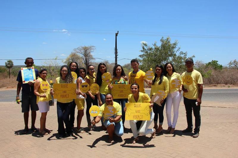 Município de Nazária realiza campanha nacional 'Setembro Amarelo'