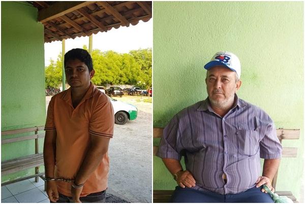 Acusados de matar pai e filho no interior do Piauí são presos