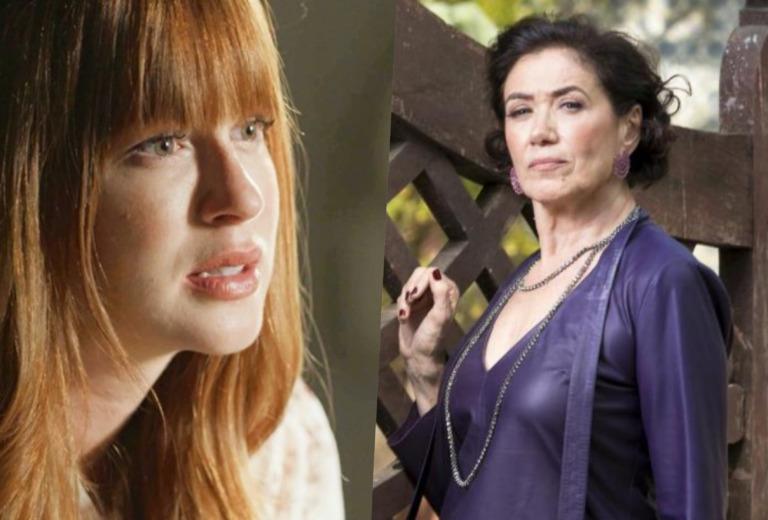 Marina Ruy Barbosa e Lilia Cabral brigam feio nos bastidores da Globo