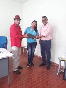 Prefeito realizou entrega de tablets para agentes comunitários de saúde