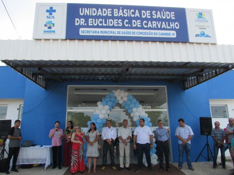 Prefeito Mirim Inaugura UBS na Sede do Município de Conceição do Canindé