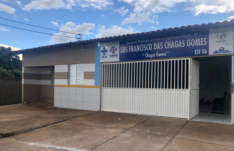 UBS Chagas Gomes será inaugurada até final de janeiro