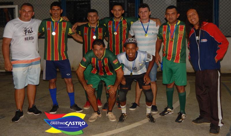 Rio Branco FC se consagra campeão no Campeonato  dos Veteranos em Cristino Castro-PI
