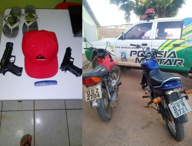 Polícia de Marcolândia recupera duas motocicletas roubadas