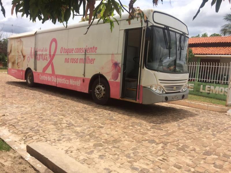 Unidade Móvel de Mama estará realizando mamografias a partir desta segunda