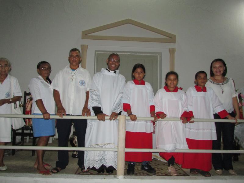 Dr. Alcione participa da celebração da Missa de enceramento dos festejos