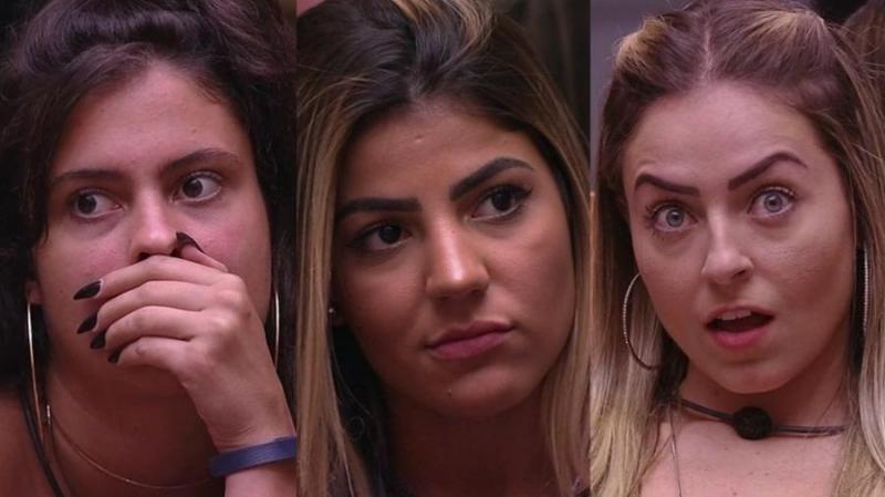 BBB19: Hana, Hariany e Paula vão para o quarto dos Sete Desafios