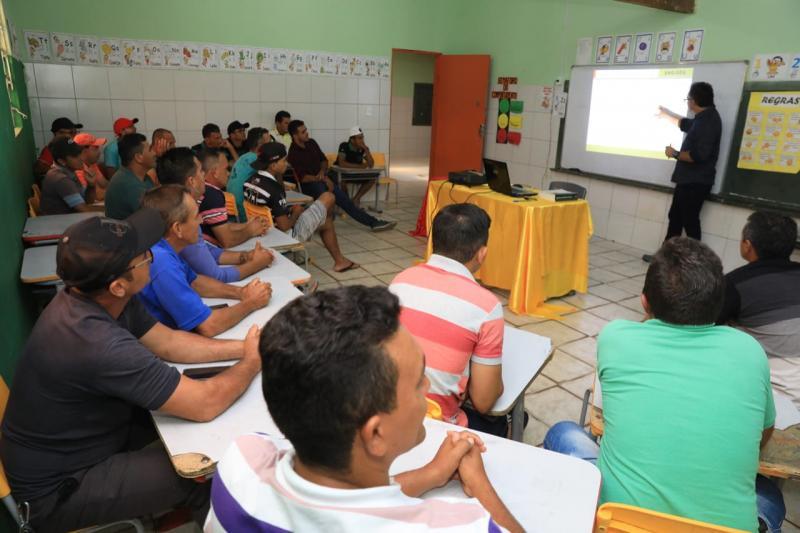Secretaria de Obras realizou curso em Segurança no Trabalho