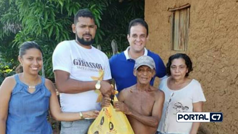 Prefeitura Municipal de Amarante realiza entregas de cestas básicas