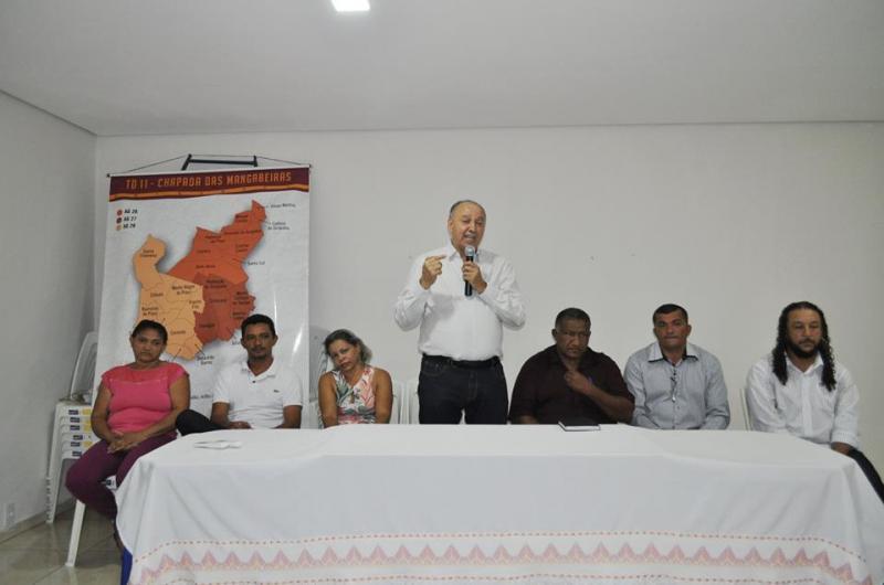 Prefeitura de Avelino Lopes sedia reunião com 14 municípios
