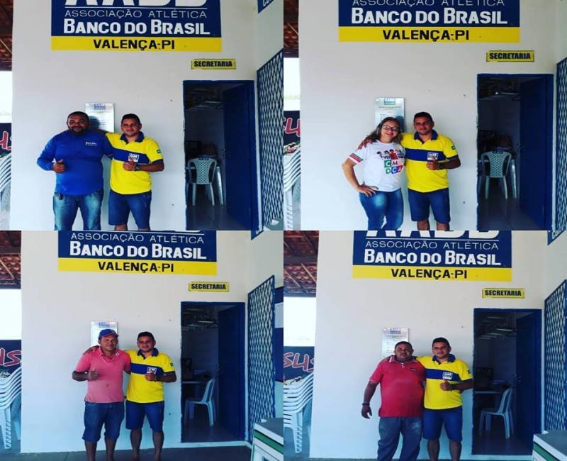 AABB de Valença do Piauí conquista mais associados para seu quadro
