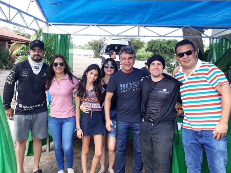 Prefeito João Luiz recepciona participantes do Rally Piocerá