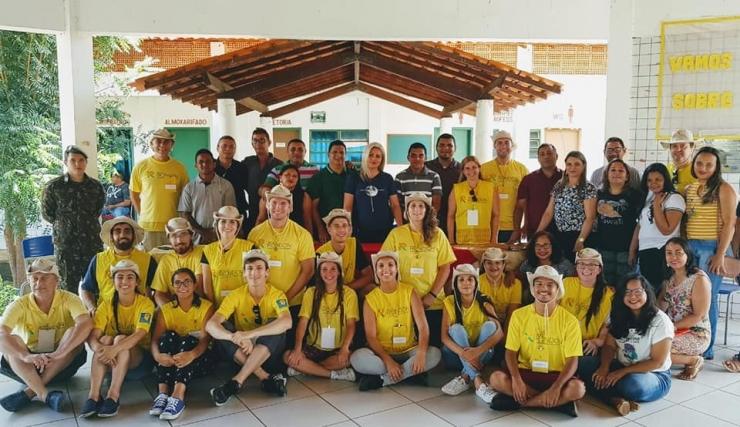 Projeto Rondon inicia segundo dia de atividades em Nossa Senhora de Nazaré