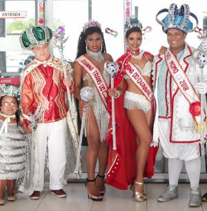 Inscrições para Rei e Rainha do Carnaval acontecem até sexta
