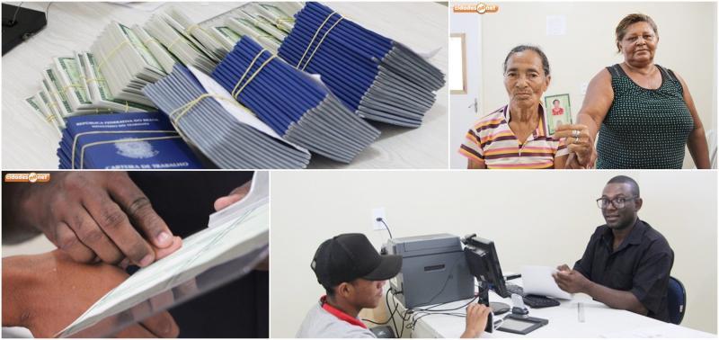 Prefeitura já emitiu mais de 2 mil Carteiras de Trabalho e identidade
