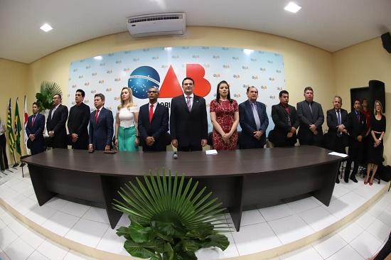 Solenidade celebra posse da nova diretoria da Subseção de Floriano
