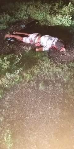 Homem é executado próximo a zona urbana do município de Lagoa do Piauí
