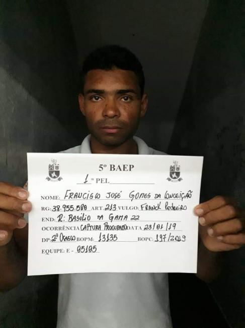 Ação integrada prende foragido do sistema penitenciário piauiense