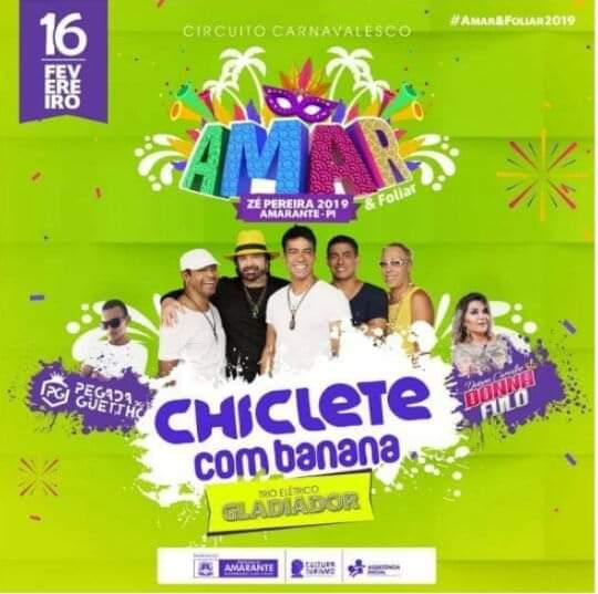 Ze Pereira de Amarante no Piauí vai ser uma das maiores folia do carnaval