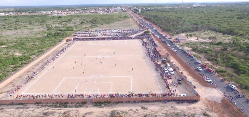 Final do Campeonato de Futebol de Campo Grande do PI reúne multidão