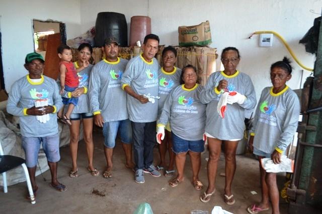 Associação ajuda na coleta de lixo seletiva em Campo Maior