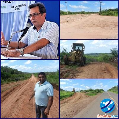 Prefeito Genival Bezerra está construindo rodoanel com recursos do próprio