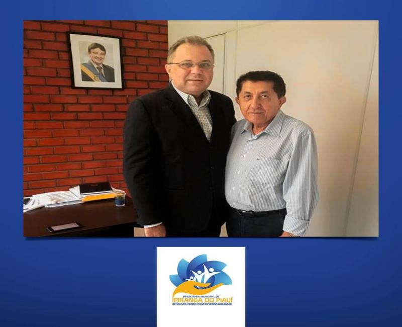 Prefeito se reuniu com Florentino Neto para tratar sobre assuntos da cidade